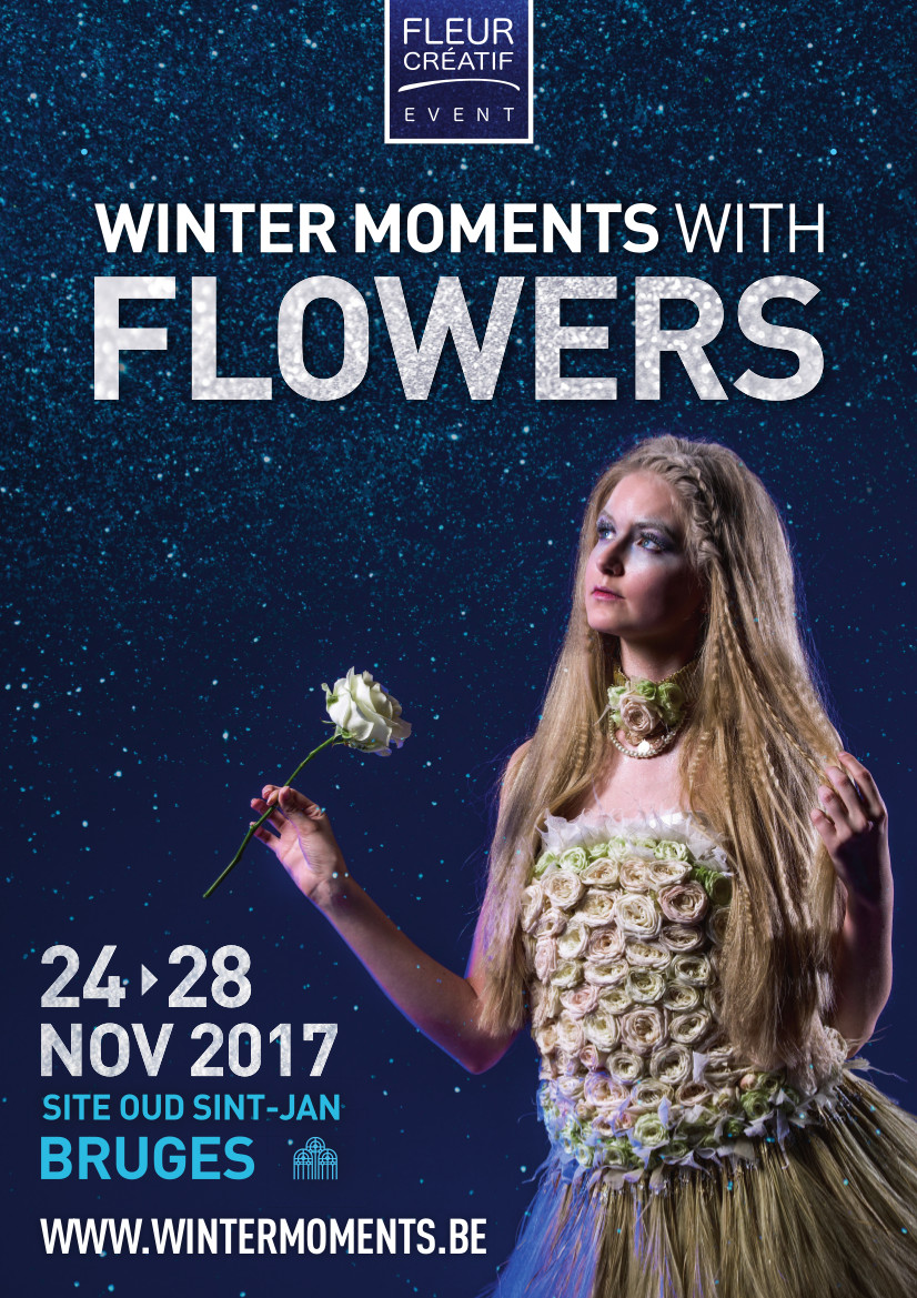 Winter Moments with Flowers
